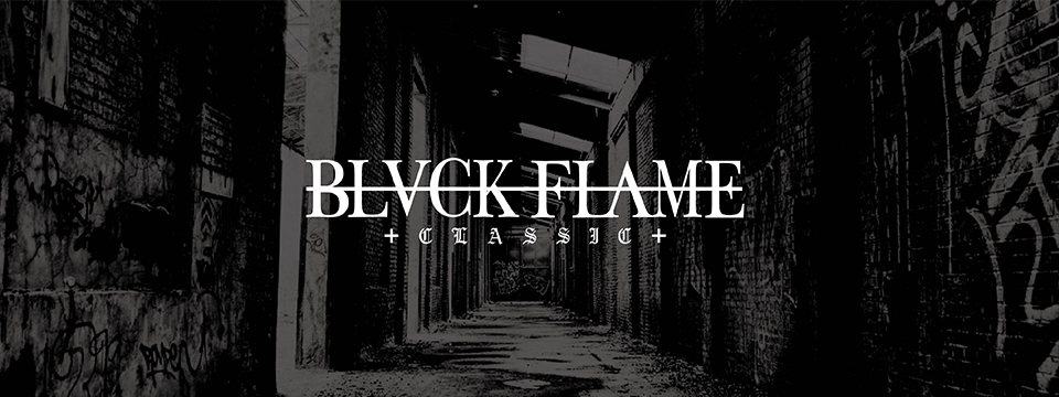 BLACK FLAMEビジュアル