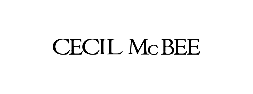CECIL McBEEビジュアル