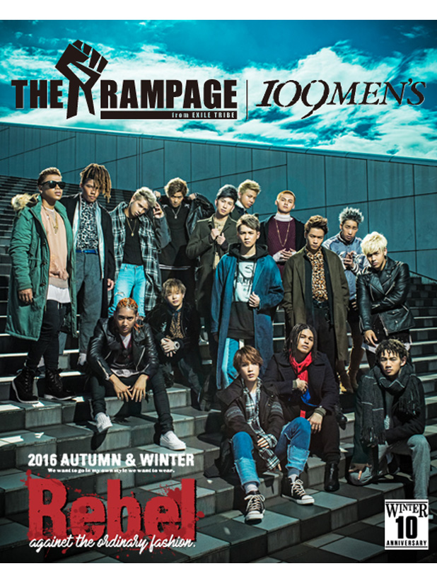 THE RAMPAGE from EXILE TRIBE × 109MEN'Sシーズンビジュアル第2弾!